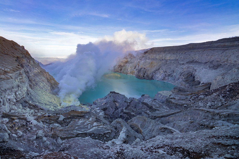Mount Ijen Crater Dawn