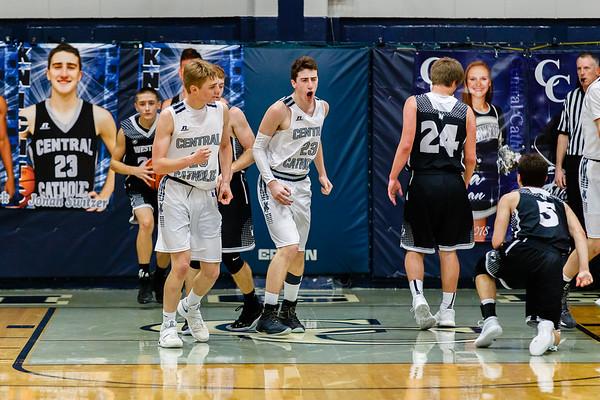 CC Boys Varsity Basketball vs Western