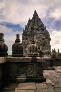 Prambanan Temple Tiers