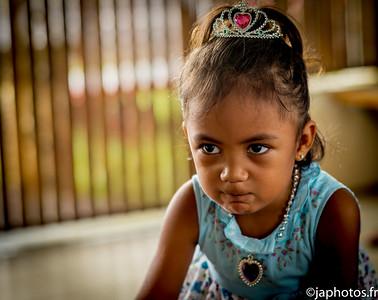 Vaehina, la Petite Reine des Neiges Marquisienne