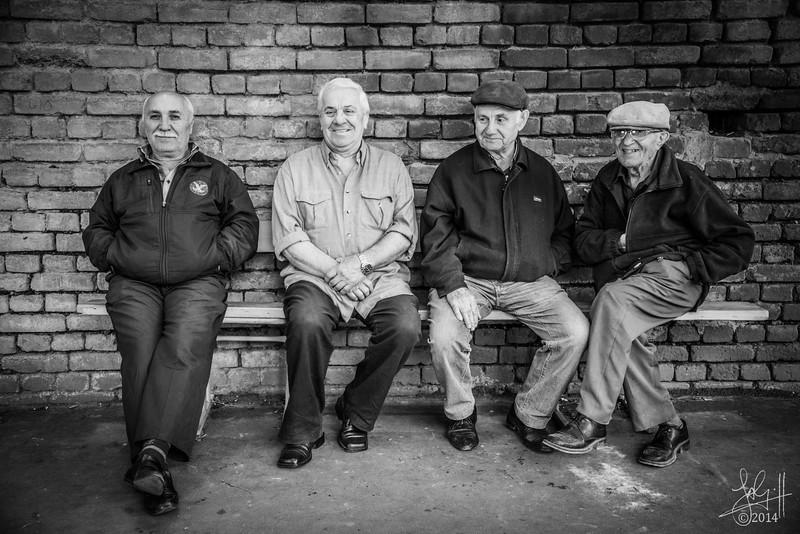 Local men, Tbilisi, Georgia