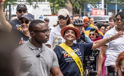 Chicago Mayor Lori Lightfoot at Chicago's Pride Parade