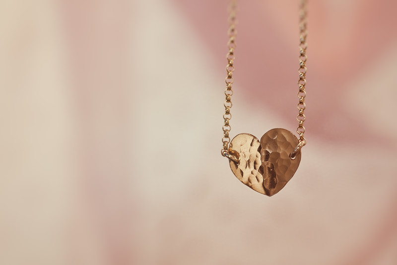 Hand-Crafted Heart Necklace