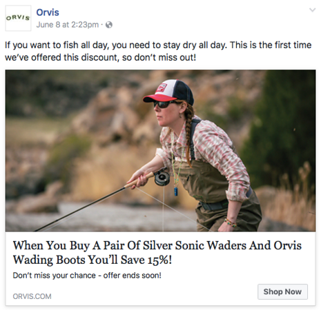 Orvis social media campaign, June 2017.<br /> <br /> Image from commissioned shoot for Orvis, Montana.