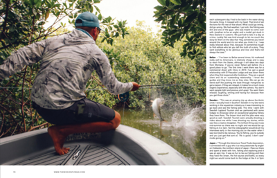 Profile and feature with South Africa's The Mission magazine.  https://themissionflymag.com/issues/issue-27/?portfolioCats=32  April 2021.
