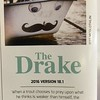 The mustache boat in action, covered by caddis.<br /> <br /> The Drake Magazine, April 2016.