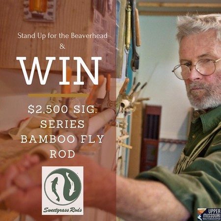 Social media image for Upper Missouri River Waterkeeper. Glenn Brackett crafting bamboo fly rods by hand at Sweetgrass Rods, Twin Bridges, MT.