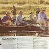 Shaun Lawson guiding anglers on the Missouri River.<br /> <br /> The Drake magazine, April 2016.