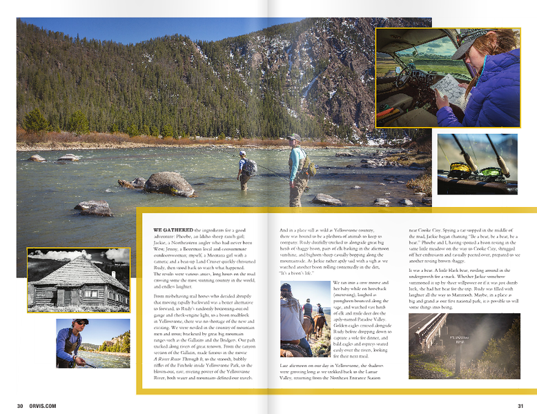 Orvis fall 2015 storybook. Images and words.