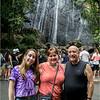 Puerto Rico February 2016 El Yunque La Coca Falls Jenna, Kim, Tom