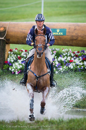 Boyd Martin and Blackfoot Mystery in the Cross Country portion of the Rolex 3-Day Event at the Ky. Horse Park 4.30.16.