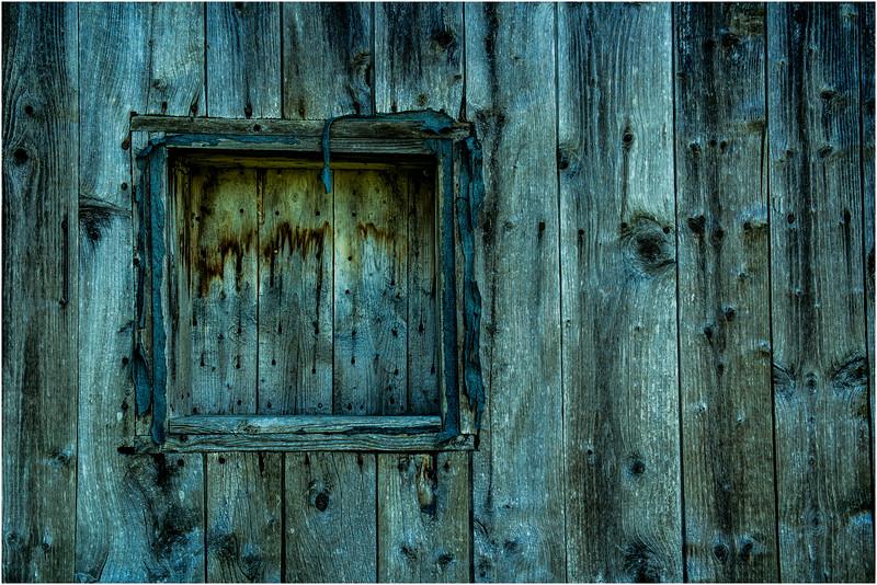 Canada Isle D'Orleans St Famille Barn Boarded Window