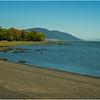 Canada Isle D'Orleans St Jean Bay, Beach and Fleuve St Laurent
