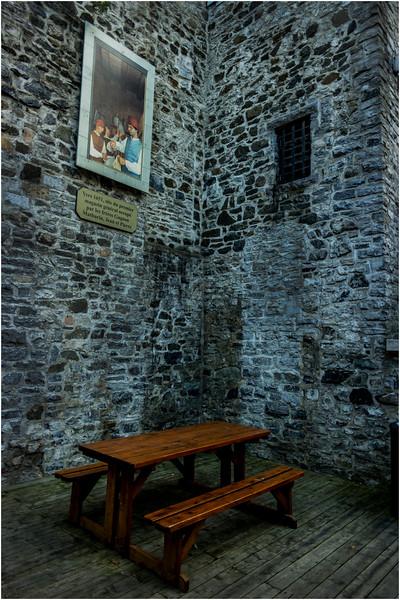 Canada Quebec City Old Town September 2015 Rue Sainte Pierre Corner Table