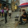 Canada Quebec City Old Town September 2015 Rue De Notre Dame Guitarist 1
