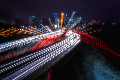 35W Light Trails
