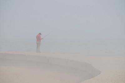 Angler in the Fog