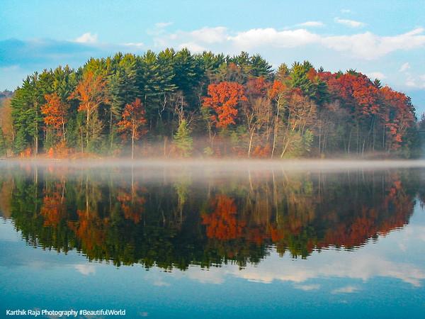Lake Perez, Shaver's Creek Environmental Center, Pennsylvania