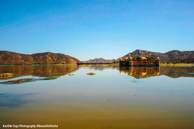 Man Sagar Lake, Jal Mahal, Jaipur, Rajasthan, Incredible India