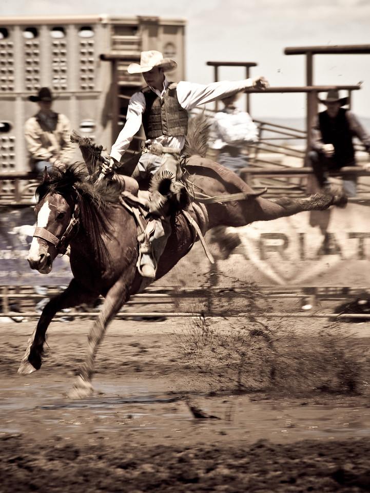 Montana High School Rodeo Finals. Gallatin Valley, Montana.