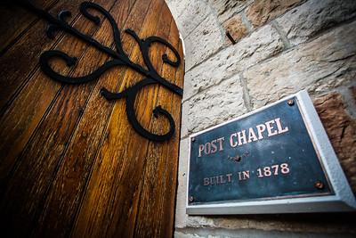 Post Chapel. Fort Leavenworth, Kansas.