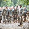Ready, set, go. Confidence obstacle course. U.S. Army recruit training. Fort Leonard Wood, Missouri.