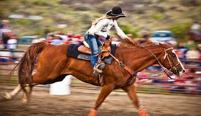 Gardiner, Montana rodeo.