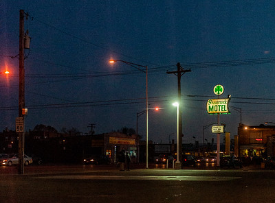 Shamrock Motel on Roosevelt Road, Cicero, IL