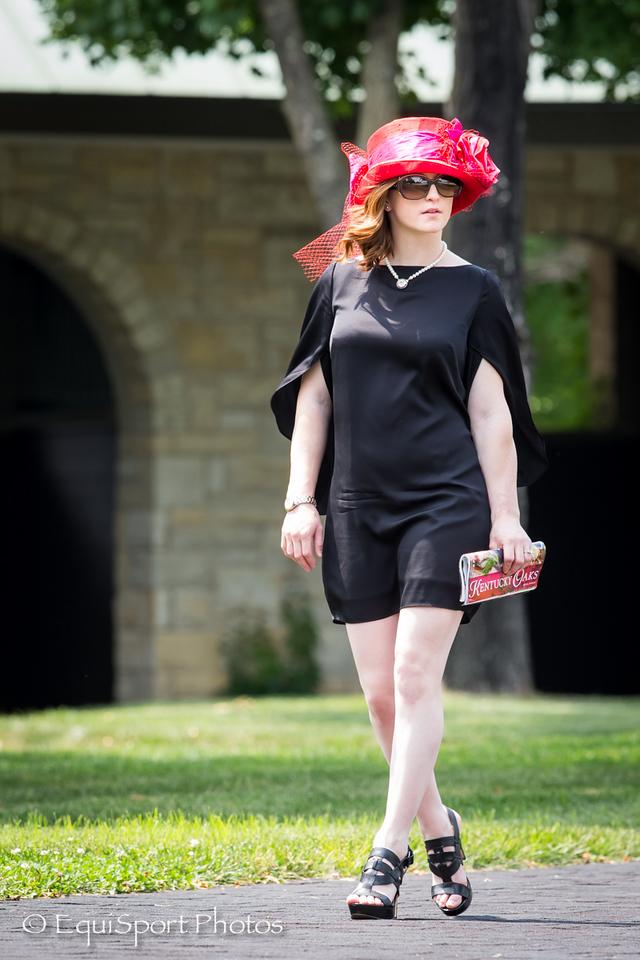 Rosie Napravnik at Keeneland 6.27.14.