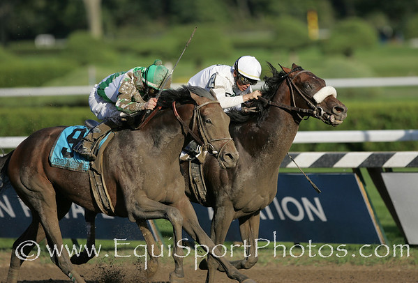 Colonel John (Tiznow), Garrett Gomez up, wins the Travers at Saratoga 8.23.2008tb (No Photo Credit Please)