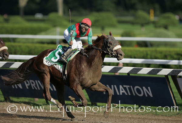 Visionaire (Grand Slam), Alan Garcia up, wins the King's Bishop at Saratoga 8.23.2008tb (No Photo Credit Please)