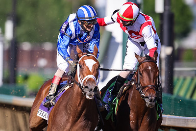Malathaat (Curlin) wins the Kentucky Oaks (G1) at Churchill Downs on 4.30.21. John Velazquez up, Todd Pletcher trainer, Shadwell Stables owner.