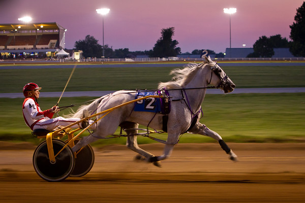 Racing at The Red Mile 8.26.2011