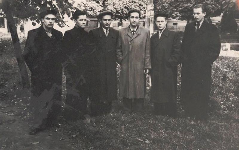 1956-1959 Заліщицька середня школа ім. Осипа Маковея. Вчителі школи