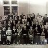 24 травня 1956. Педагогічний колектив Заліщицької середньої школи.