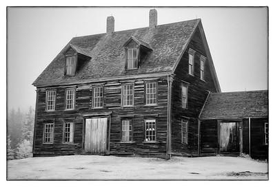 Olsen House cushing Maine Infrared
