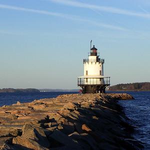 Spring Point Ledge Light-South Portland-Maine