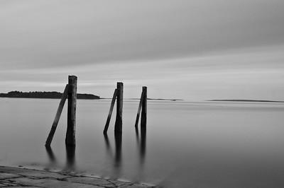 East End Beach boat landing - Portland, Maine.