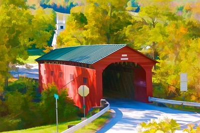Arlington Green Covered Bridge West Arlington, VT