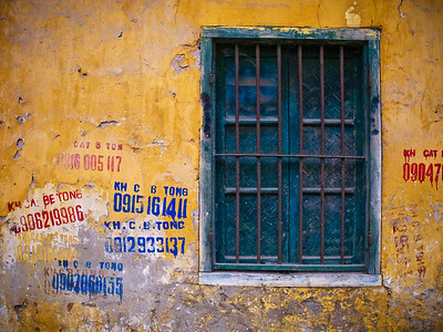 Window detail-Hanoi-Vietnam