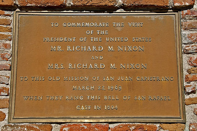 Plaque on the wall below the next picture.