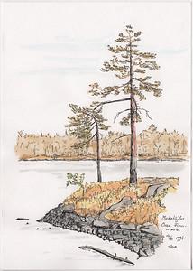 Mickelsjön, Orsa Finnmark, 1994-08-04