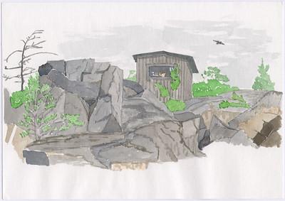 Gillis hydda, Gåsholmen, Pellinge, 1996-07-26 (?)