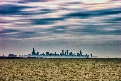 The skyline beyond