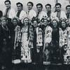 124. Театр ім. Садовського в Заліщиках, вересень 1939 року, 1-й зліва  в 1 ряду П. Карабіневич
