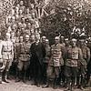672. Диктатор ЗУНР Є. Петрушевич з командирами УГА, липень 1919 року