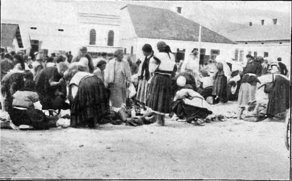 759. Торгівля на ринку, жовтень 1931 року.
