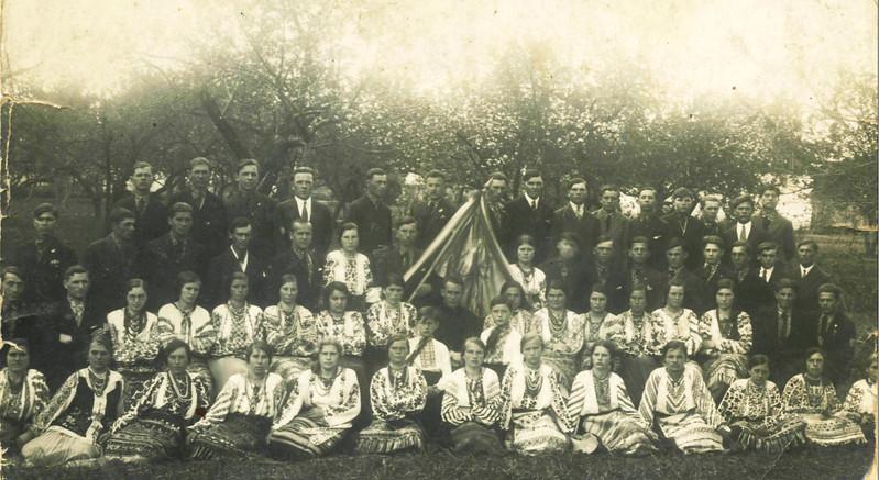 """134. Товариство """"Луг"""" в Старих Заліщиках, 1933 рік"""