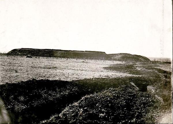 560. Військові позиції в районі колишніх укріплень періоду Кримської війни (видно окоп)