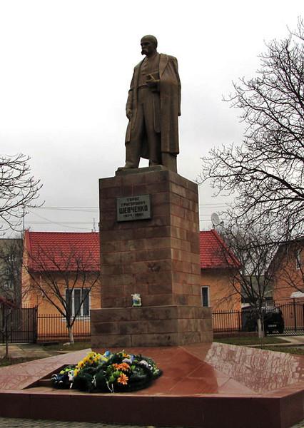 421. Пам'ятник Татасу Шевченку